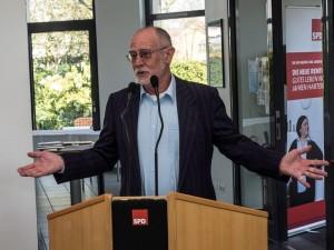 Hans-Georg Fohrmeister begrüsste als AfA-Vorsitzender die Teilnehmerinnen und Teilnehmer.