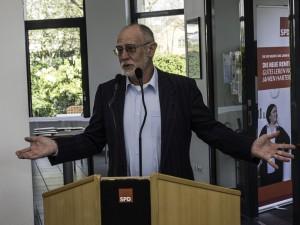 AfA-Vorsitzender Hans-Georg Fohrmeister wünscht sich mehr Ausbildungsplatzangebote